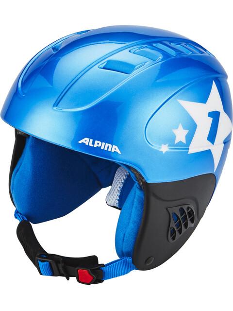 Alpina Carat - Casque Enfant - bleu